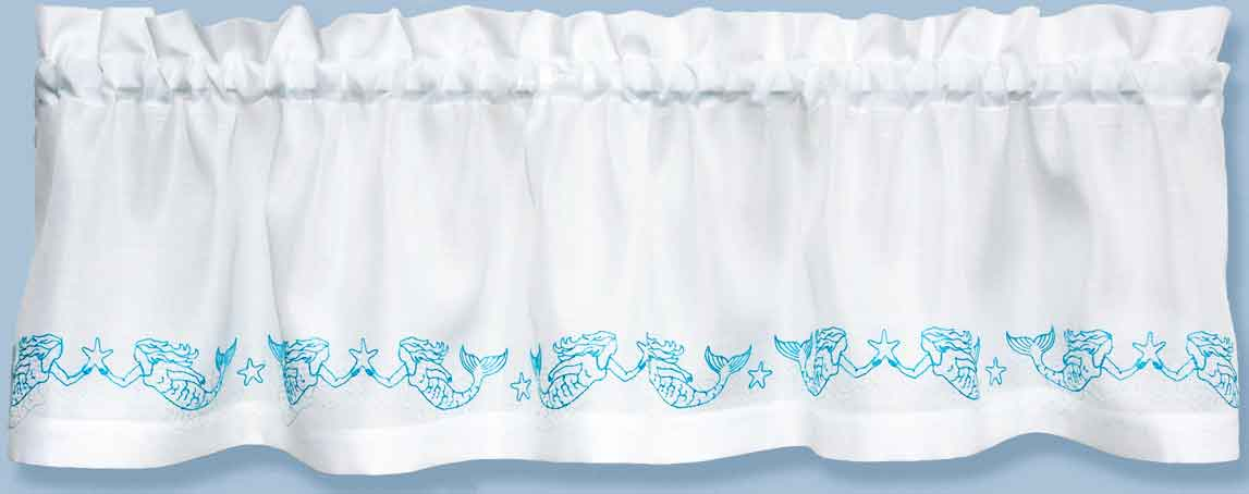 Mermaid Curtain Valance Paine Products
